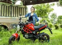 Bạn trẻ cá tính cùng Ducati Mini Monster 110
