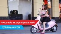 VIDEO Xe máy điện Proud - Mẫu xe máy điện hiện đại nhất