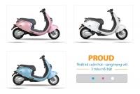 Xe máy điện Proud hiện có mấy màu?