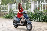 Xe máy điện Vespa Nioshima Byvin 2017 - Sự lựa chọn hàng đầu của phái đẹp