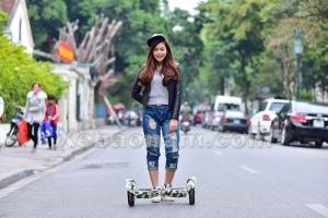 Khám phá thú chơi xe điện cân bằng của giới trẻ thủ đô