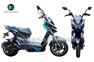 Kiểu dáng thể thao mạnh mẽ của xe máy điện Aima Jeek 2017