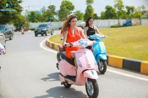 Đi xe máy điện Vespa Nioshima 2018 tại sao không?