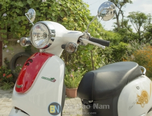 Soi chi tiết Xe ga 50cc Giorno nhỏ gọn tiện ích sử dụng cao