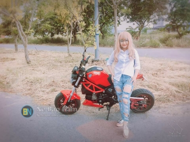 Hoạt động của hội MiniBike - Ducati Mini Monster 110 Miền Bắc