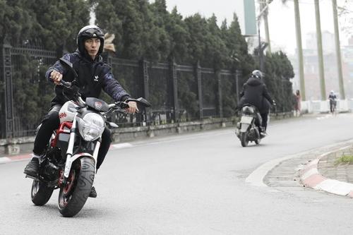 Xe Ducati Mini Monster 110 - Sau 1 năm sử dụng - Anh Quang Anh Cameraman