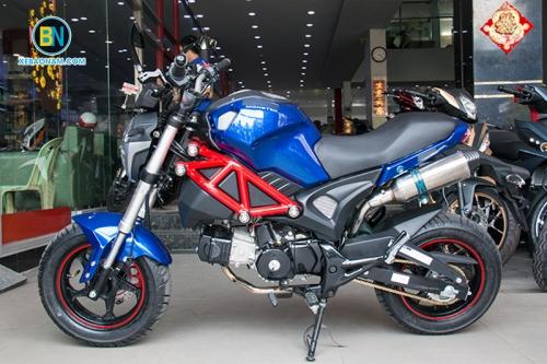 Xe máy Ducati Monster 110 2 Pô đút đít cực chất!