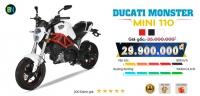 Ducati Monster Mini 110 2 bản Lazăng thể thao