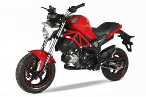 Xe máy Ducati Mini Monster 110