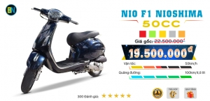 Xe ga 50cc Nio F1 chính hãng Nioshima