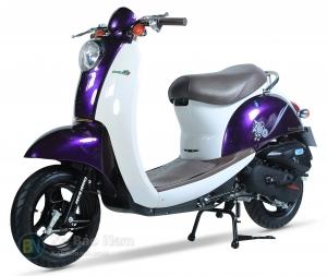 Xe ga 50cc Scoopy màu tím
