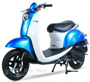 Xe ga 50cc màu xanh nước biển New