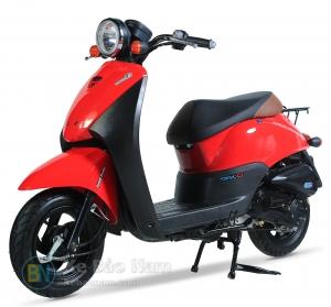 Xe ga 50cc Today màu Đỏ Đen New