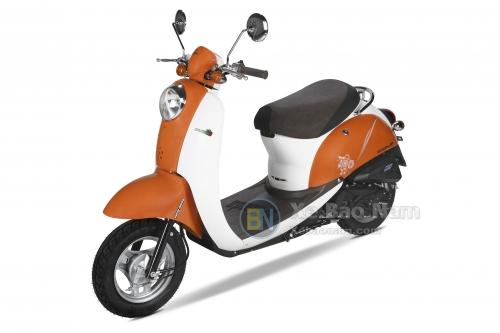Xe ga 50cc Scoopy màu Cam