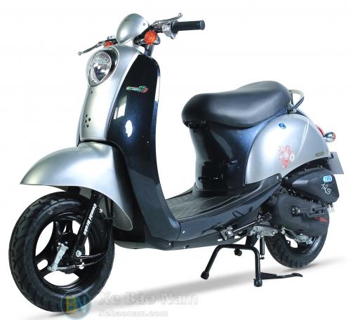Xe ga 50cc Scoopy màu Lông Chuột