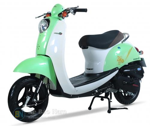 Xe ga 50cc Scoopy màu Xanh lá nhạt