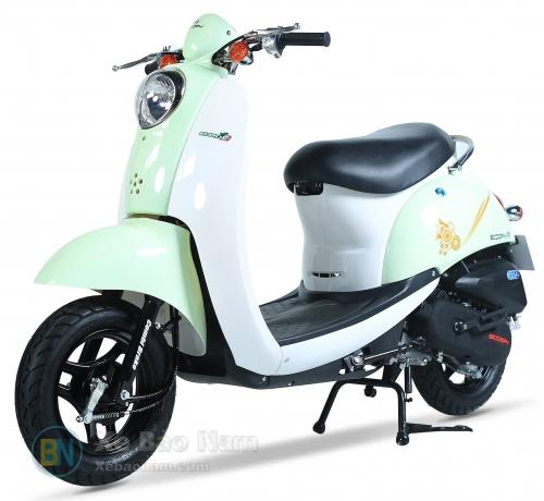 Xe ga 50cc Scoopy màu Xanh Thiên Thanh New