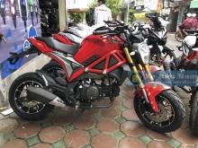 Tiếng Động Cơ Ducati Monster Mini 110cc new ► Nổ cực chất - Đồng hồ Led đẹp