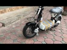 Soi chi tiết xe máy điện M133ds chính hãng giant nhập khẩu