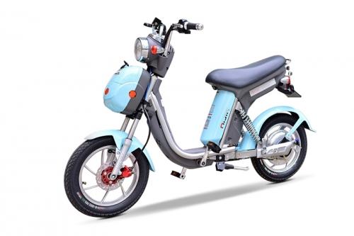 Xe đạp điện Nijia 2017 Phanh đĩa đồng hồ điện tử