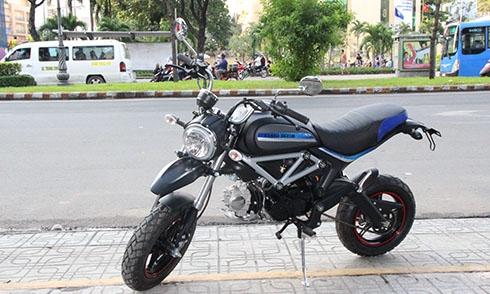 Xe máy Ducati Scrambler 110 (Minibike Ducati Scrambler 110)