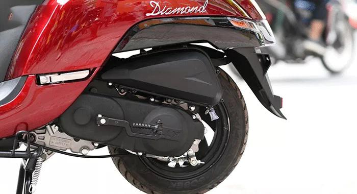 Động cơ xe ga 50cc diamond ally