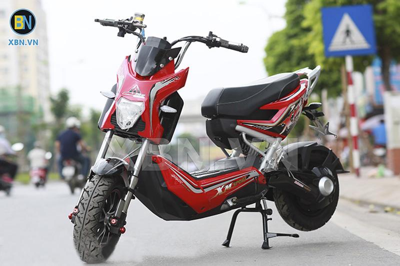 Xe máy điện Xmen Fuji 2017 màu đỏ