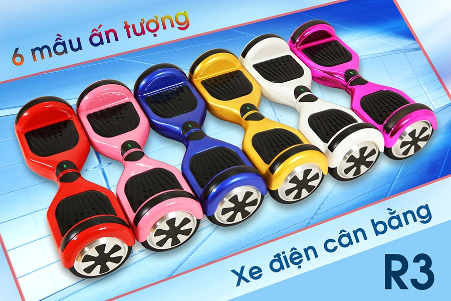 Xe điện cân bằng chính hãng nhập khẩu
