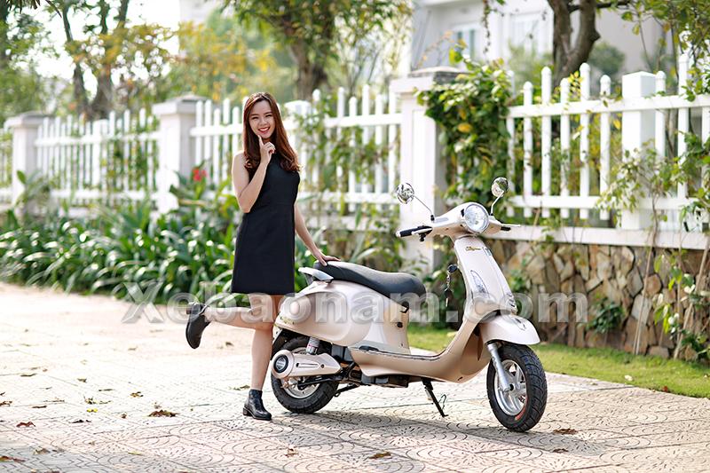 Xe máy điện Vespa Nioshima Byvin xe Bảo Nam