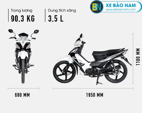 Thiết kế ngoại hình đầy cá tính và mạnh mẽ của xe Visar 50cc Kymco