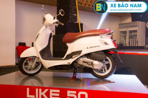 Xe ga 50cc Like Kymco là chiếc xe đẹp từ ngoại hình đến động cơ