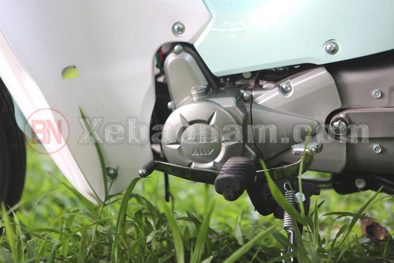 Động cơ xe cub 50cc ally new
