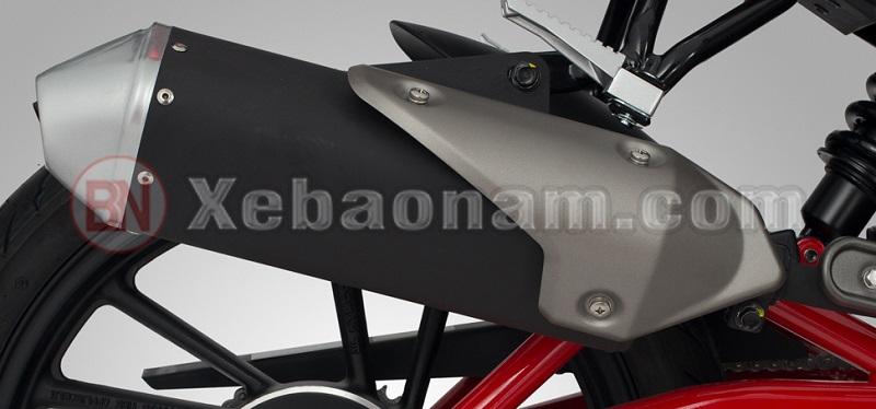 Pô xe máy 50cc kymco k-pipe 50