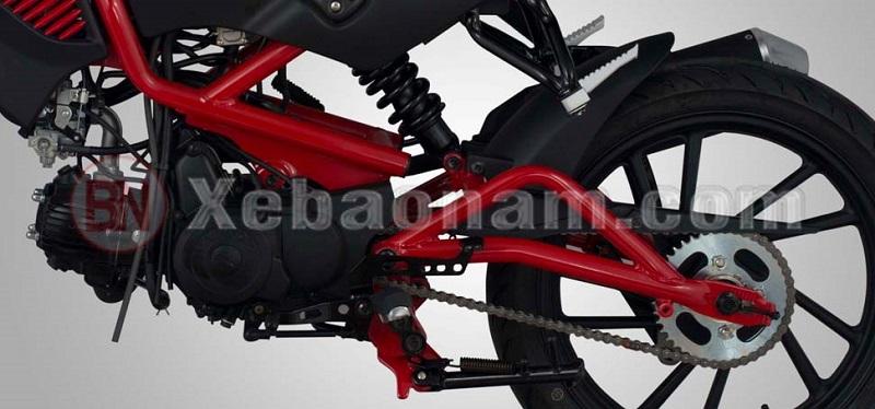 Khung sườn xe máy 50cc kymco k-pipe 50