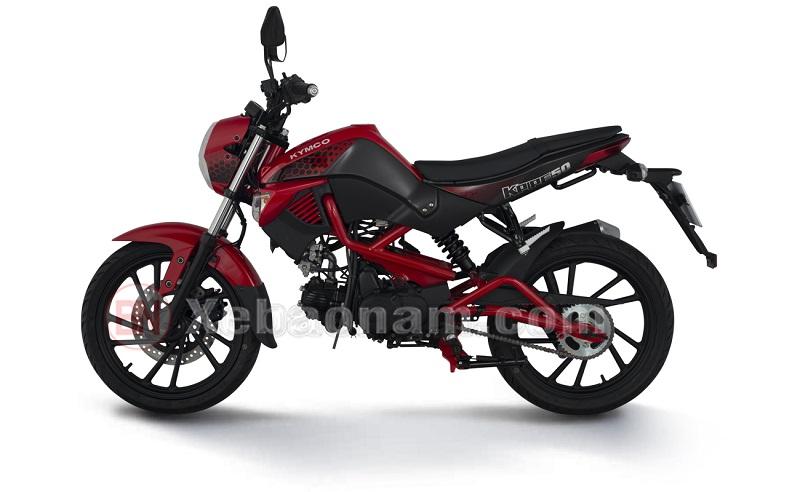 Thân xe máy 50cc kymco k-pipe 50