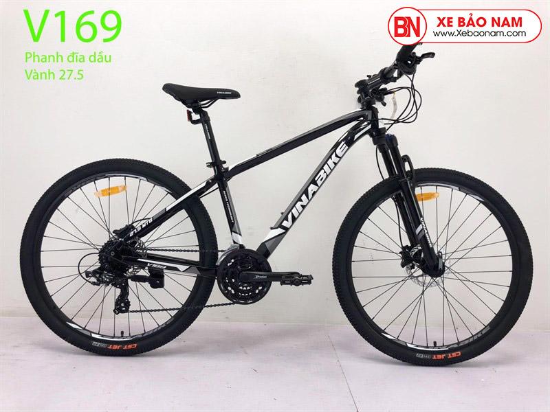 Xe đạp VinaBike V169 màu đen