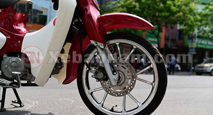 Vành đúc xe cub 50cc classic vvip
