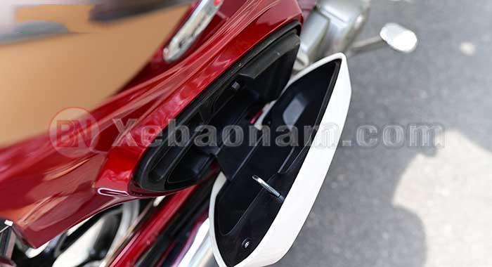 Cốp phụ xe cub 50cc classic vvip