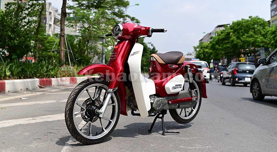 Xe cub 50cc classic vvip chính hãng Detech màu do