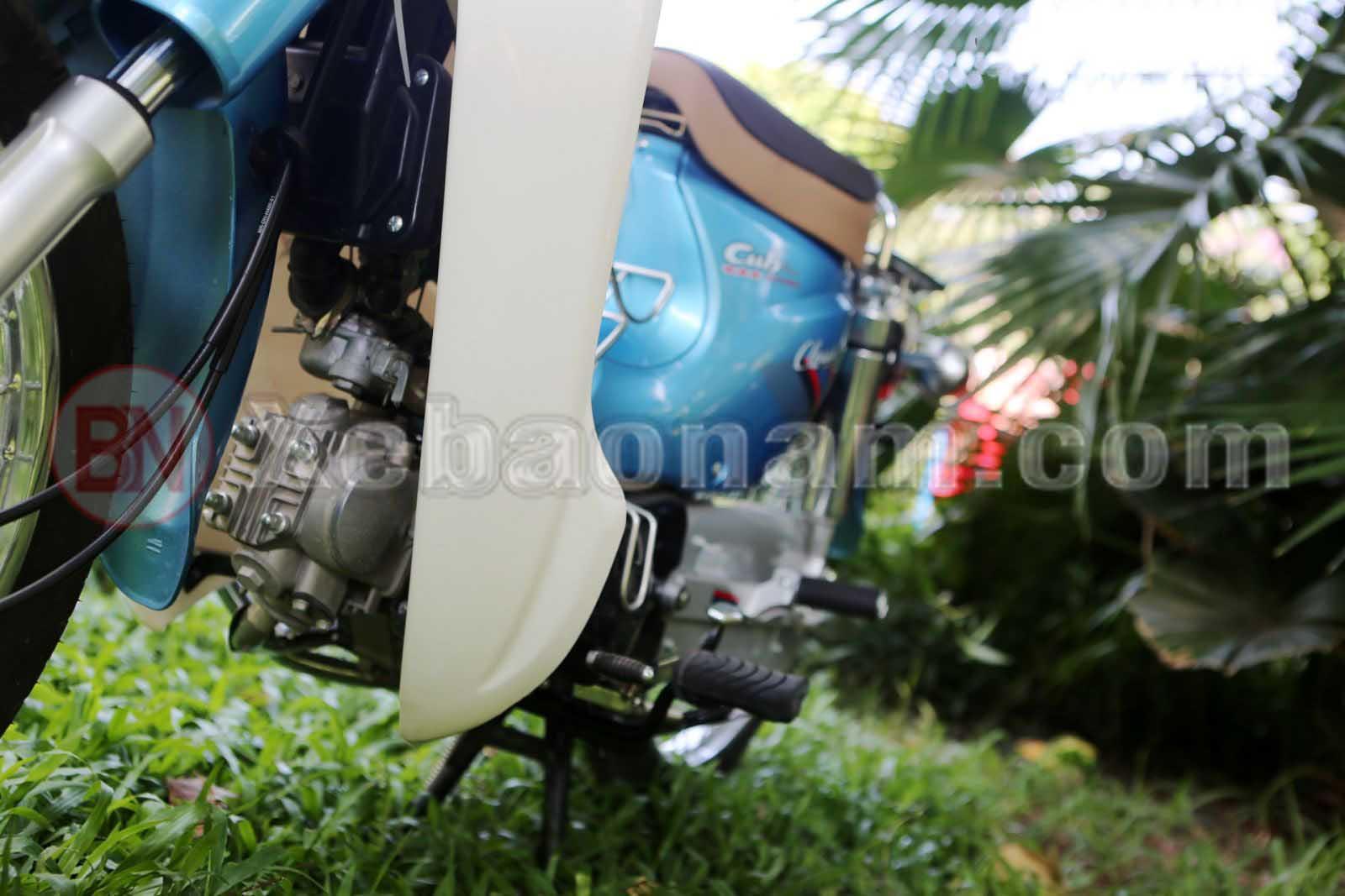 Động cơ xe cub 81 50cc việt thái