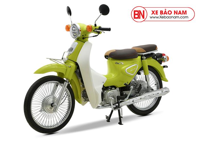 Xe máy Cub 81 New 2019 màu xanh lá mạ