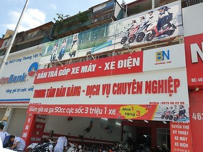 Hình ảnh cửa hàng xe điện Bảo Nam