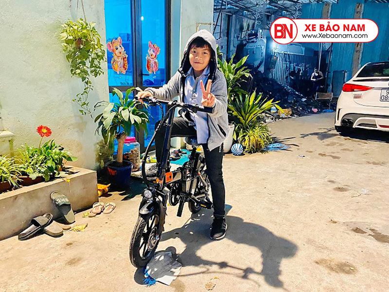 Xe đạp điện gấp nui 2021