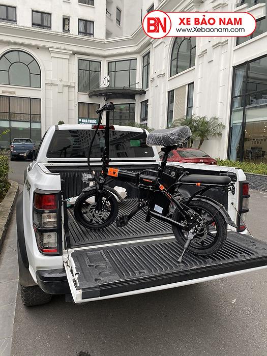 Xe đạp điện gấp nui