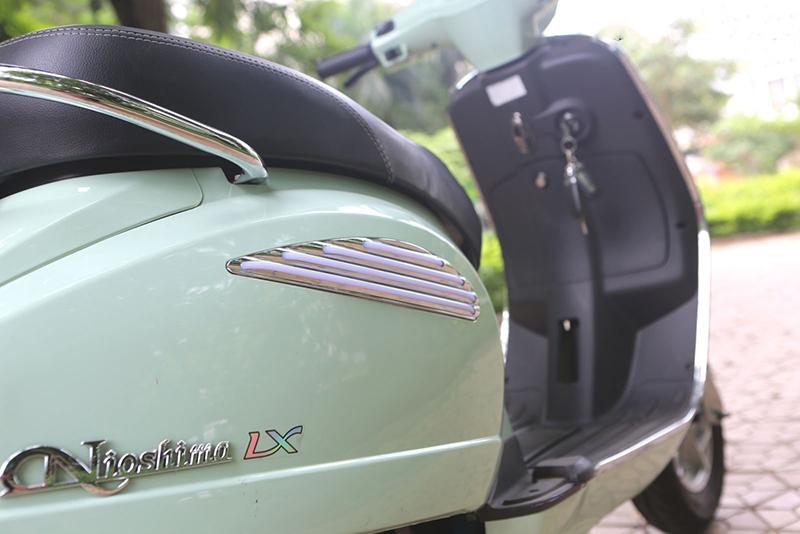 Thân xe máy điện vespa nioshima lx