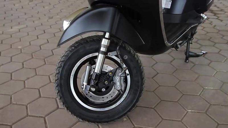 Bánh trước xe máy điện Vespa Dibao Pansy
