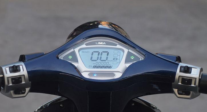 Mặt đồng hồ xe máy điện vespa lima