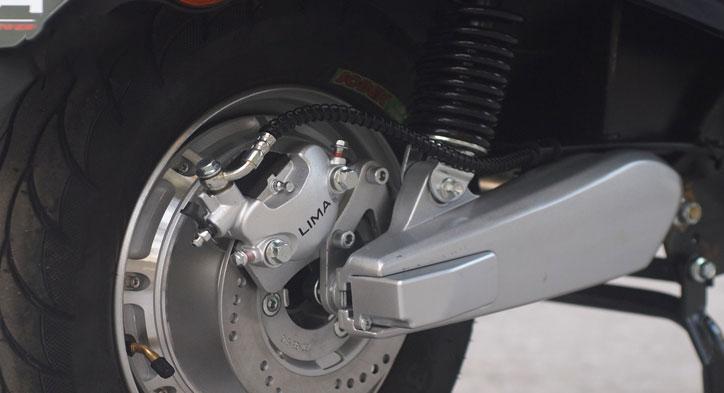 Động cơ xe máy điện vespa lima