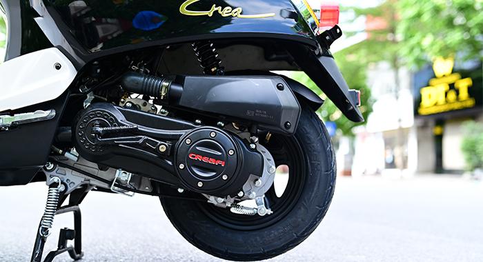 Động cơ xe ga 50cc crea fi