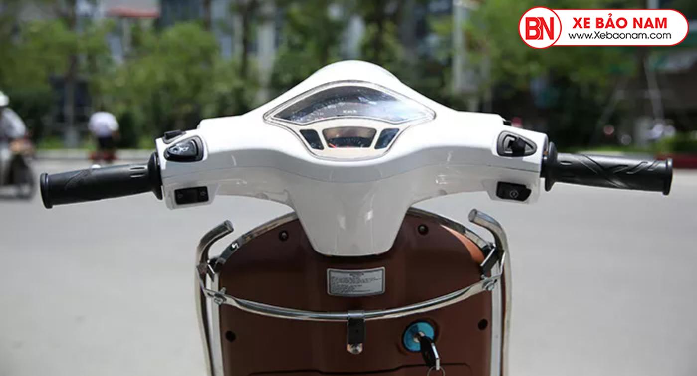 Mặt đồng hồ thiết kế sang trọng xe ga 50cc vespa espero detech